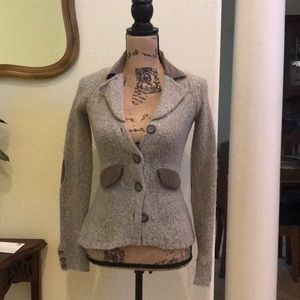 Sparrow gray sweater jacket, Anthropologie